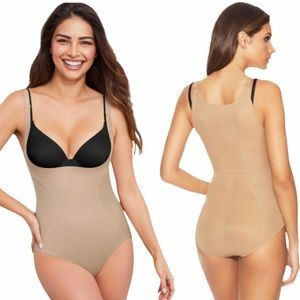 MAIDENFORM Open Bust Body Shaper Large NEW NWT!!